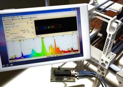 Meranie spektrometrom